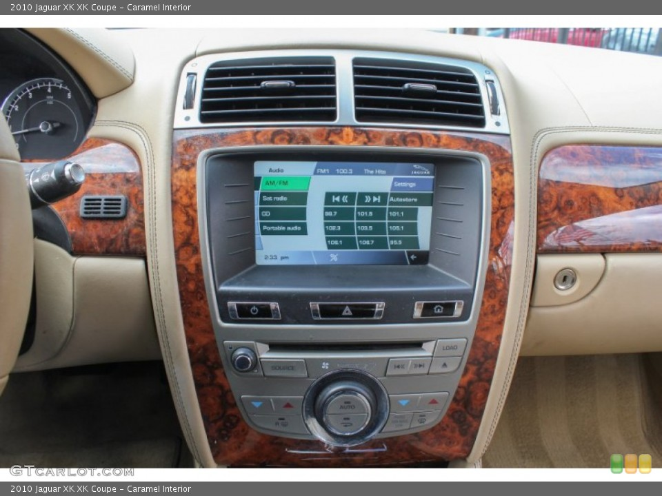 Caramel Interior Controls for the 2010 Jaguar XK XK Coupe #78441164