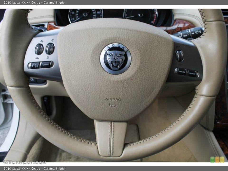 Caramel Interior Controls for the 2010 Jaguar XK XK Coupe #78441263