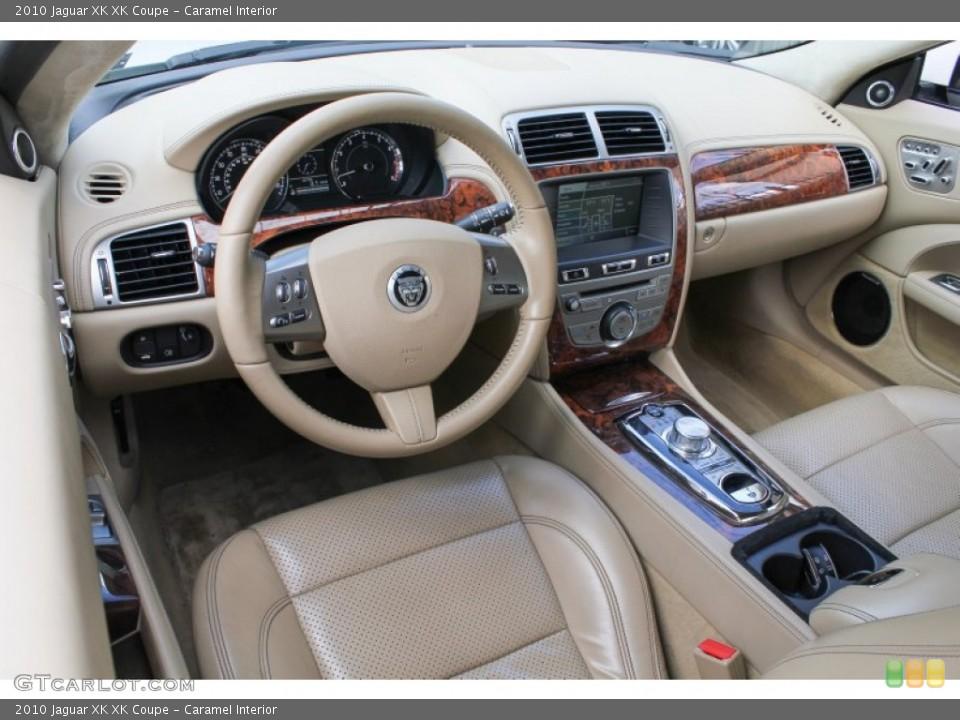 Caramel Interior Prime Interior for the 2010 Jaguar XK XK Coupe #78441284