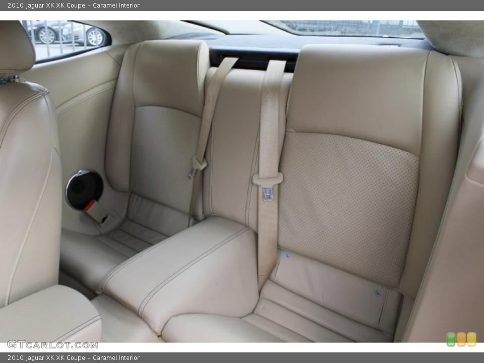 Caramel Interior Rear Seat for the 2010 Jaguar XK XK Coupe #78441302