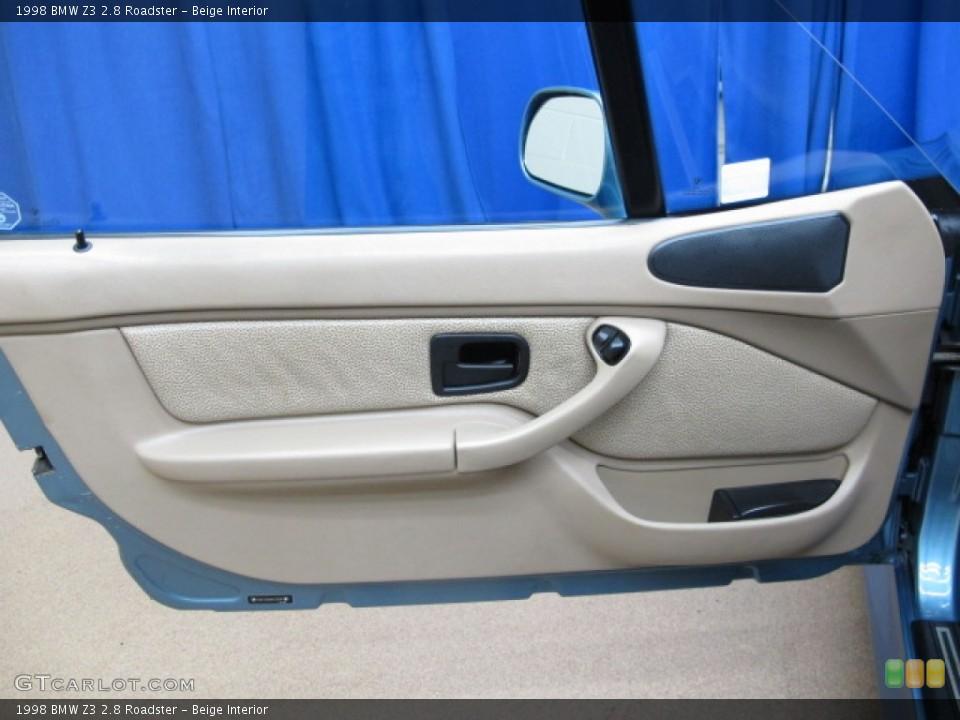 Beige Interior Door Panel for the 1998 BMW Z3 2.8 Roadster #78475916