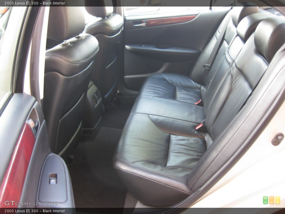 Black 2003 Lexus ES Interiors