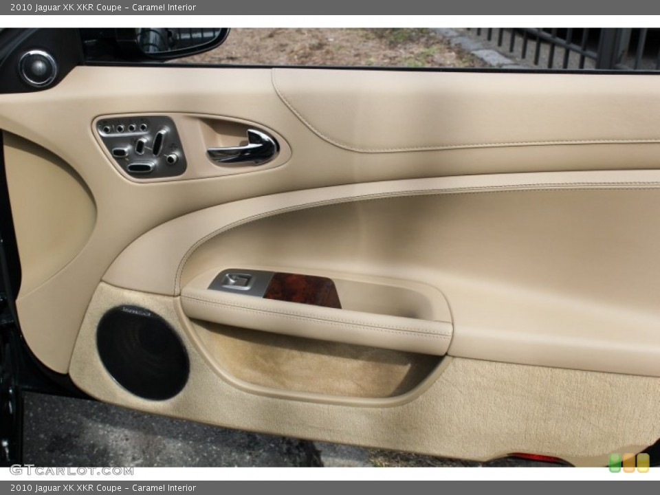 Caramel Interior Door Panel for the 2010 Jaguar XK XKR Coupe #78562029