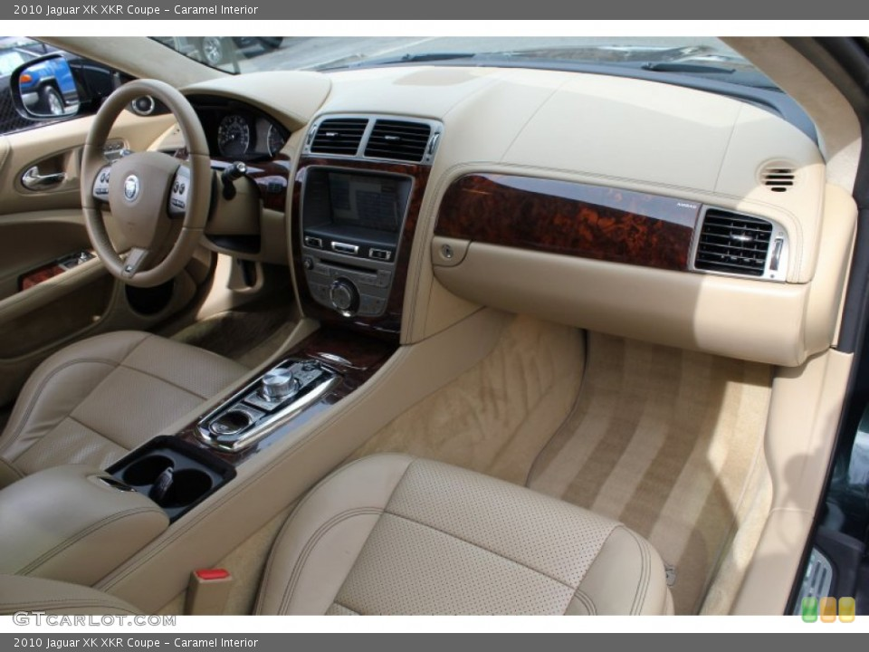 Caramel Interior Dashboard for the 2010 Jaguar XK XKR Coupe #78562073