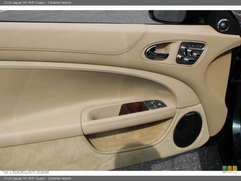 Caramel Interior Door Panel for the 2010 Jaguar XK XKR Coupe #78562152
