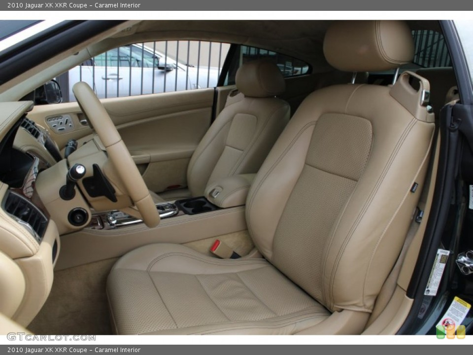 Caramel Interior Front Seat for the 2010 Jaguar XK XKR Coupe #78562178