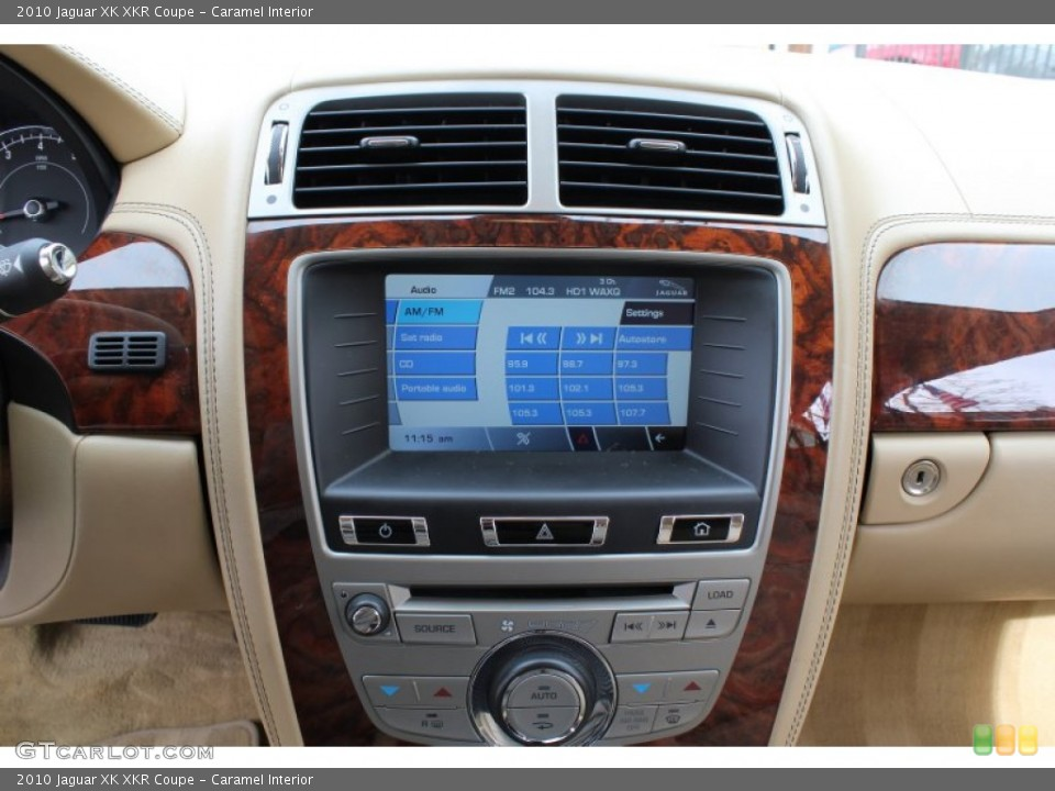 Caramel Interior Controls for the 2010 Jaguar XK XKR Coupe #78562199