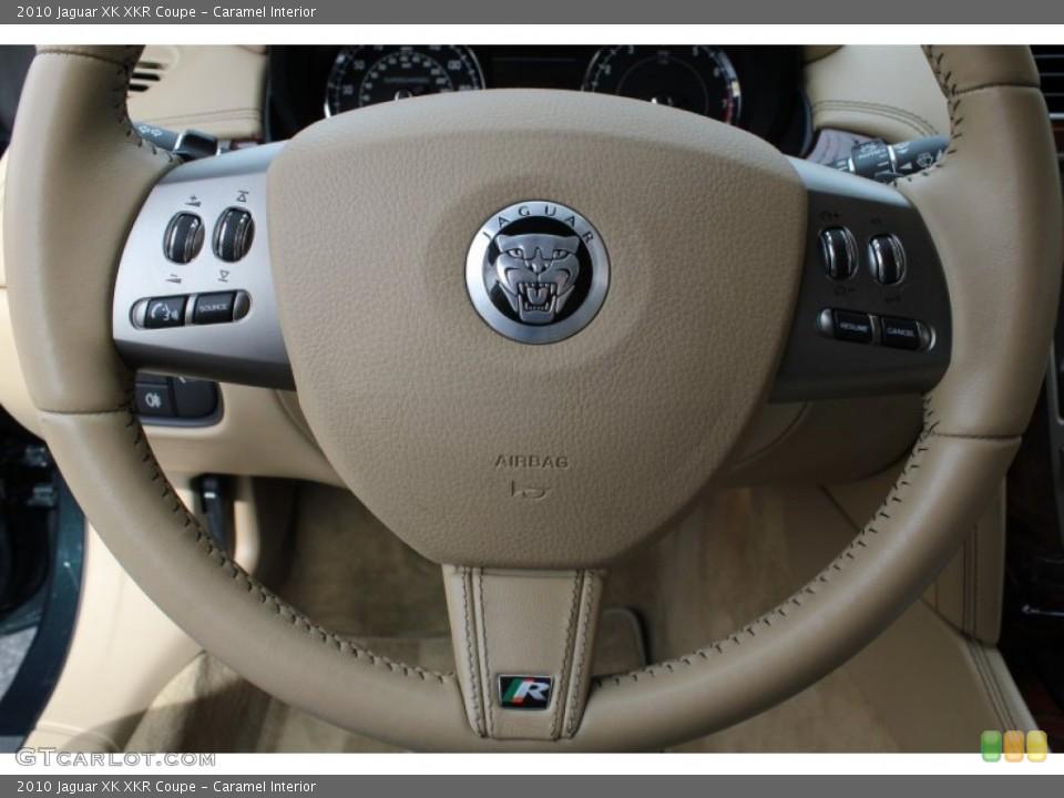 Caramel Interior Steering Wheel for the 2010 Jaguar XK XKR Coupe #78562351
