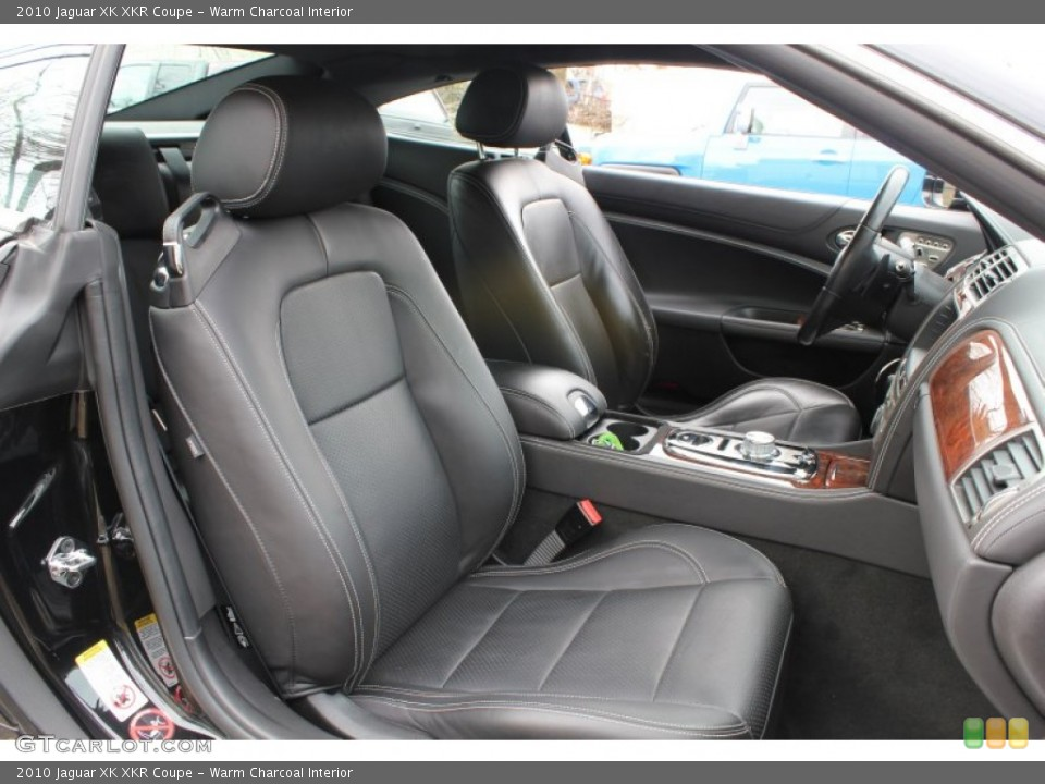 Warm Charcoal Interior Front Seat for the 2010 Jaguar XK XKR Coupe #78605523