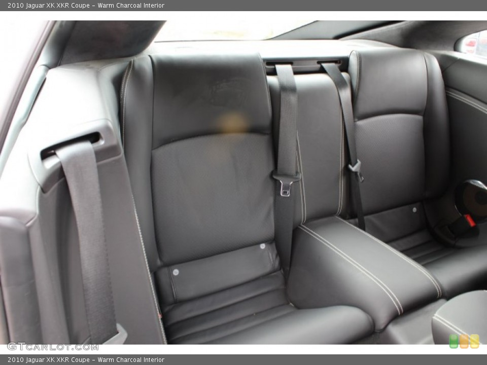 Warm Charcoal Interior Rear Seat for the 2010 Jaguar XK XKR Coupe #78605555