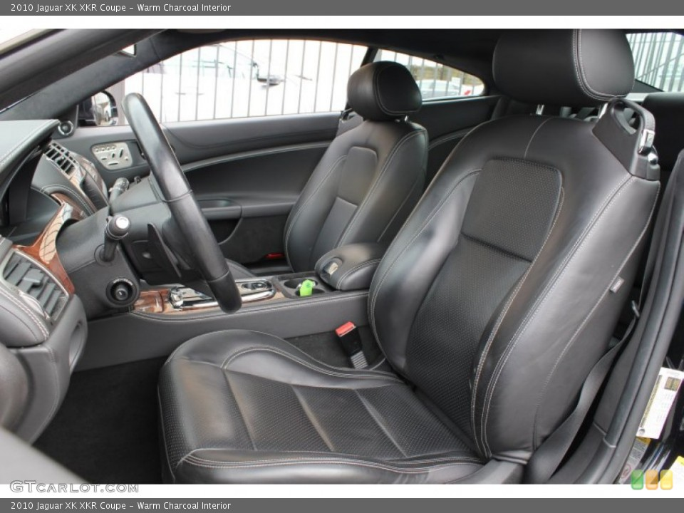 Warm Charcoal Interior Front Seat for the 2010 Jaguar XK XKR Coupe #78605598