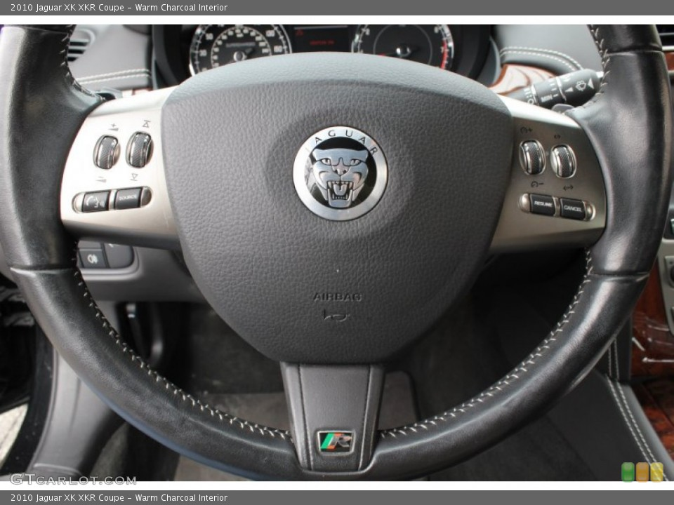 Warm Charcoal Interior Controls for the 2010 Jaguar XK XKR Coupe #78605707