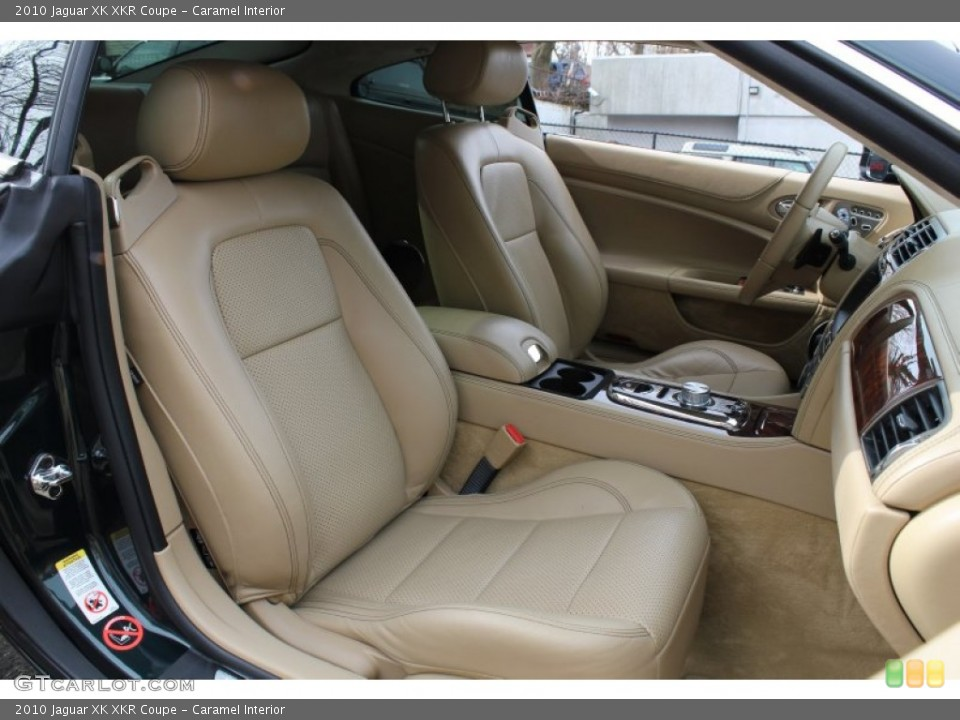 Caramel Interior Front Seat for the 2010 Jaguar XK XKR Coupe #78625761
