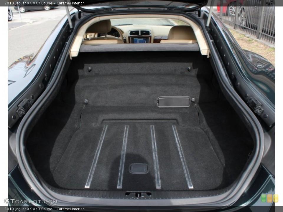 Caramel Interior Trunk for the 2010 Jaguar XK XKR Coupe #78625818