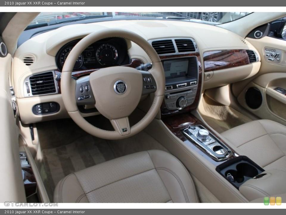 Caramel Interior Prime Interior for the 2010 Jaguar XK XKR Coupe #78626023