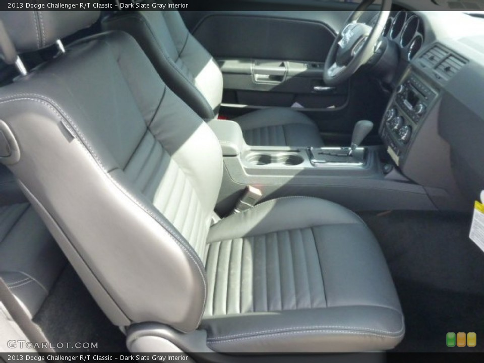 Dark Slate Gray Interior Photo for the 2013 Dodge Challenger R/T Classic #78636483