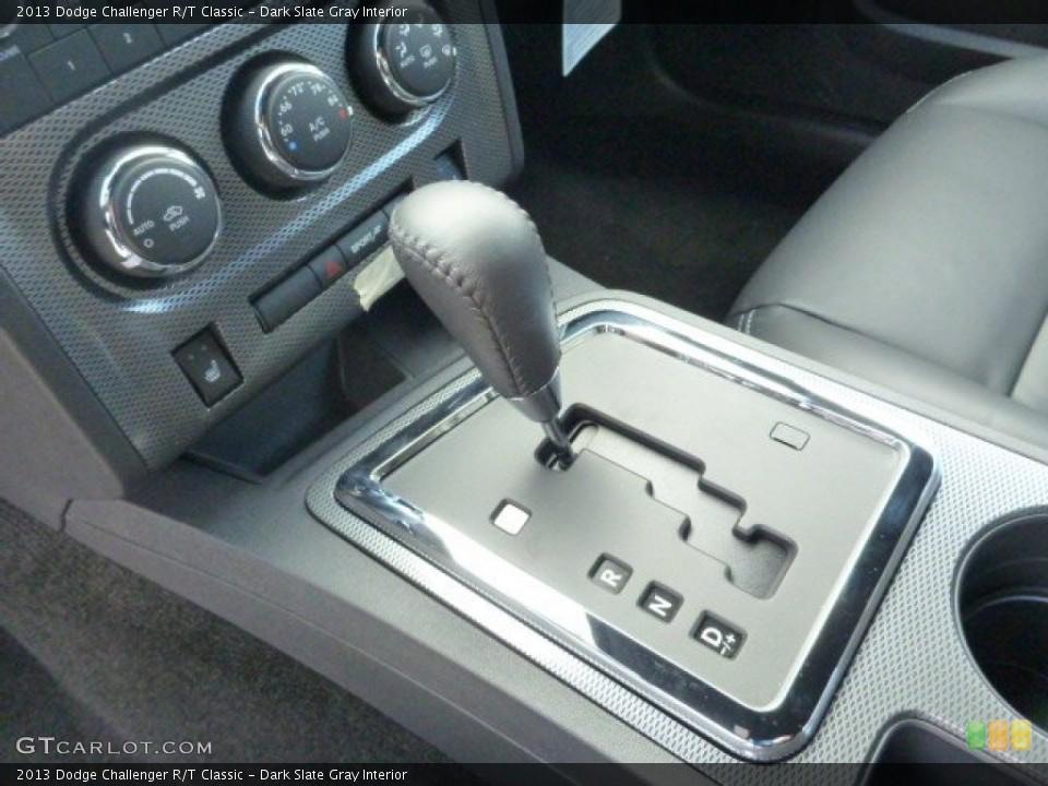 Dark Slate Gray Interior Transmission for the 2013 Dodge Challenger R/T Classic #78636543