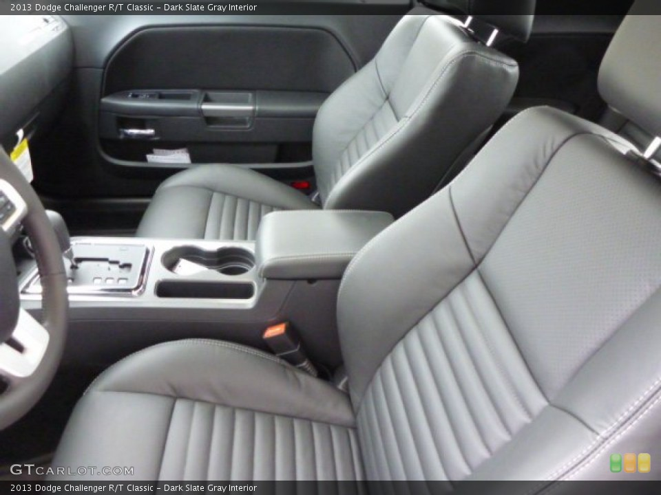 Dark Slate Gray Interior Photo for the 2013 Dodge Challenger R/T Classic #78687836