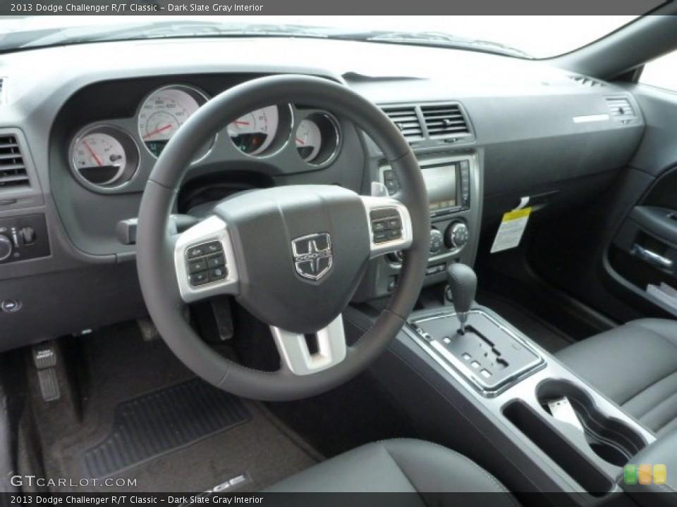 Dark Slate Gray Interior Prime Interior for the 2013 Dodge Challenger R/T Classic #78687857