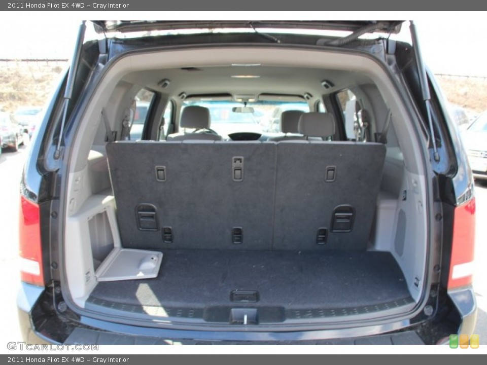 Gray Interior Trunk for the 2011 Honda Pilot EX 4WD #78772115