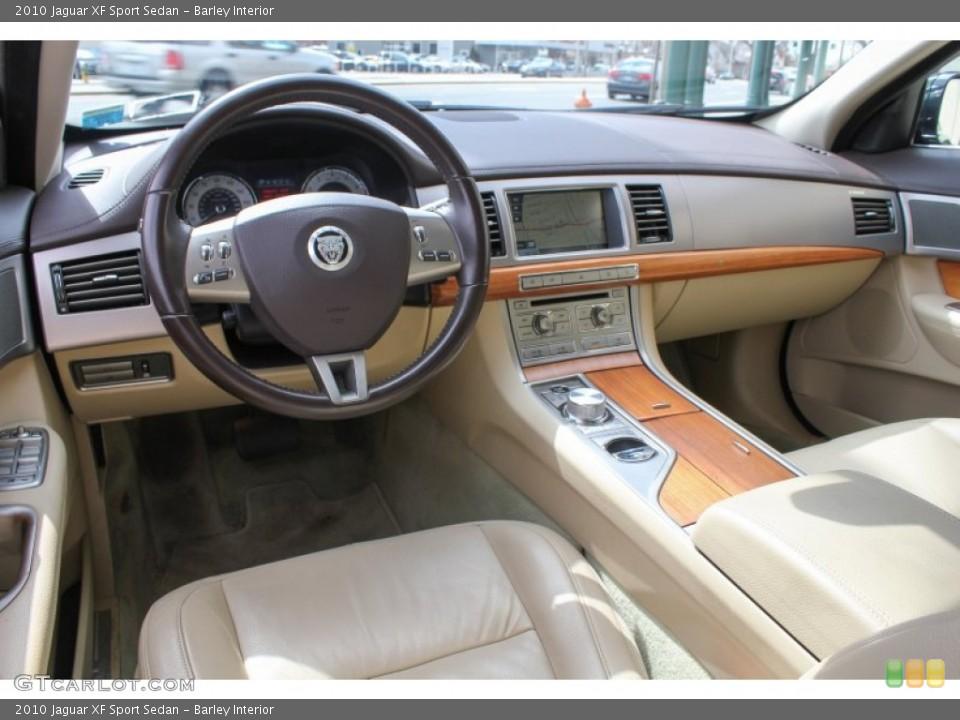Barley 2010 Jaguar XF Interiors