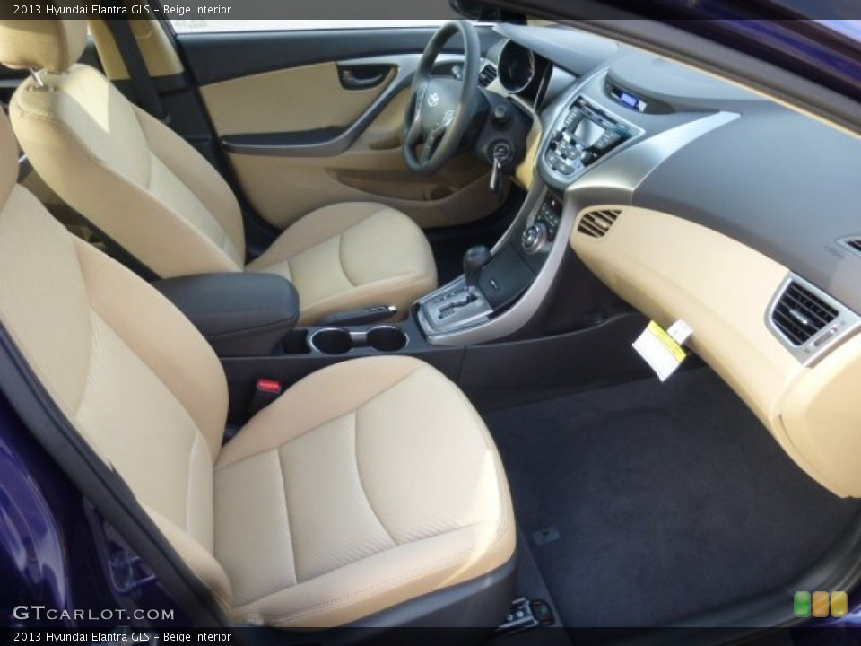 Beige Interior Photo for the 2013 Hyundai Elantra GLS #78791732 ...