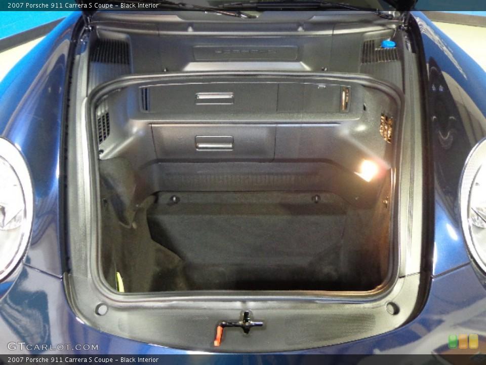 Black Interior Trunk for the 2007 Porsche 911 Carrera S Coupe #78830117