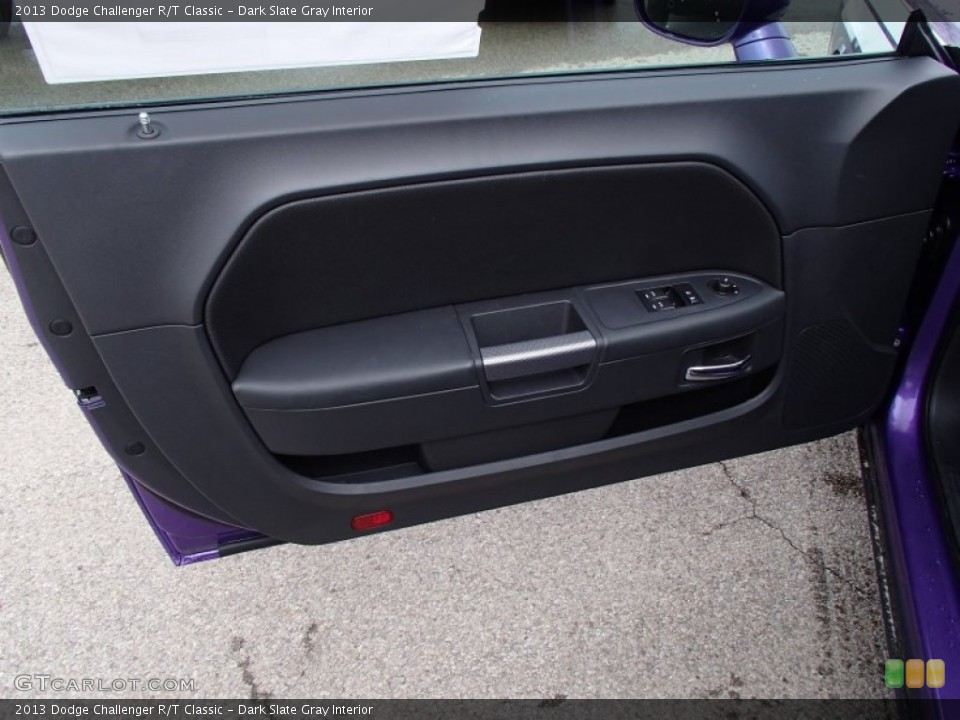 Dark Slate Gray Interior Door Panel for the 2013 Dodge Challenger R/T Classic #78885813