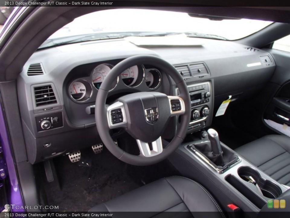 Dark Slate Gray Interior Prime Interior for the 2013 Dodge Challenger R/T Classic #78887525