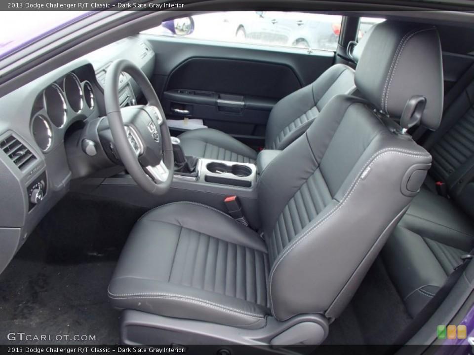 Dark Slate Gray Interior Photo for the 2013 Dodge Challenger R/T Classic #78887548