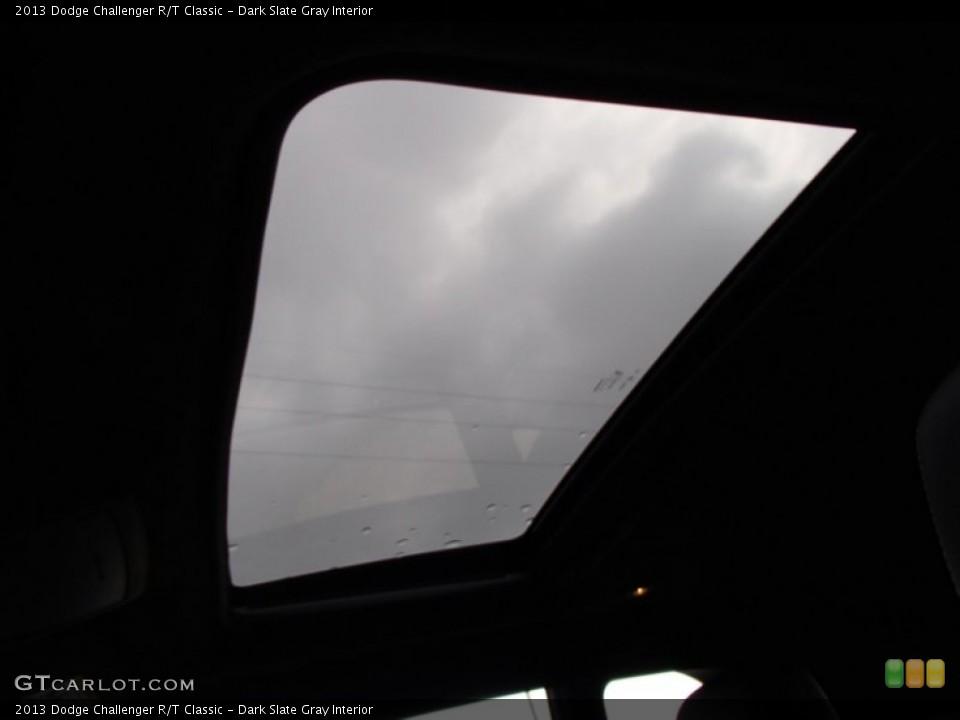 Dark Slate Gray Interior Sunroof for the 2013 Dodge Challenger R/T Classic #78887633