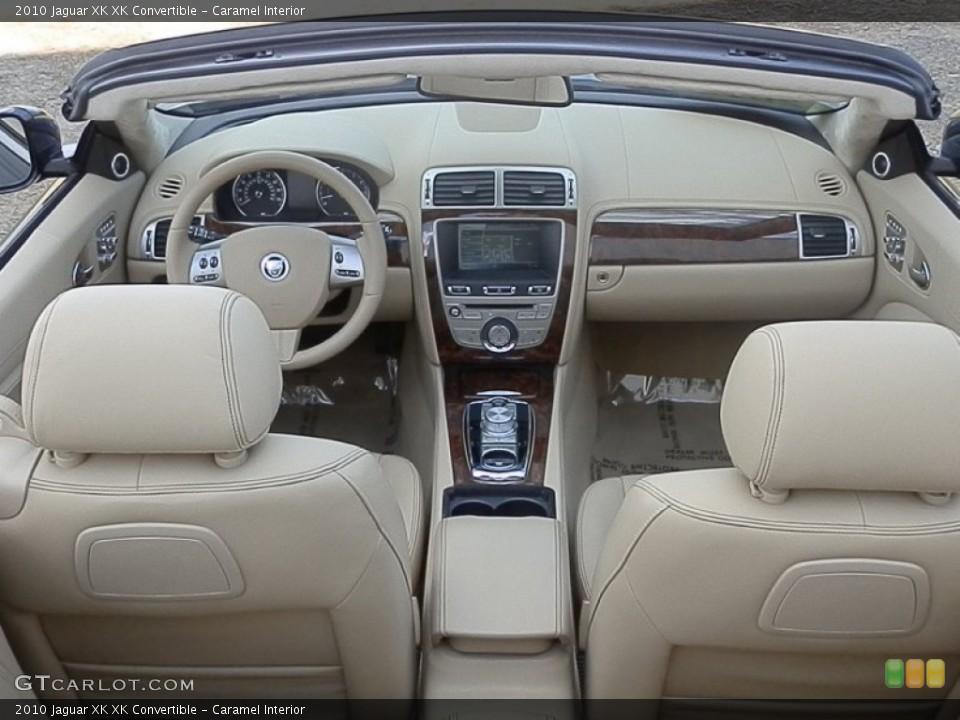 Caramel Interior Dashboard for the 2010 Jaguar XK XK Convertible #78930291