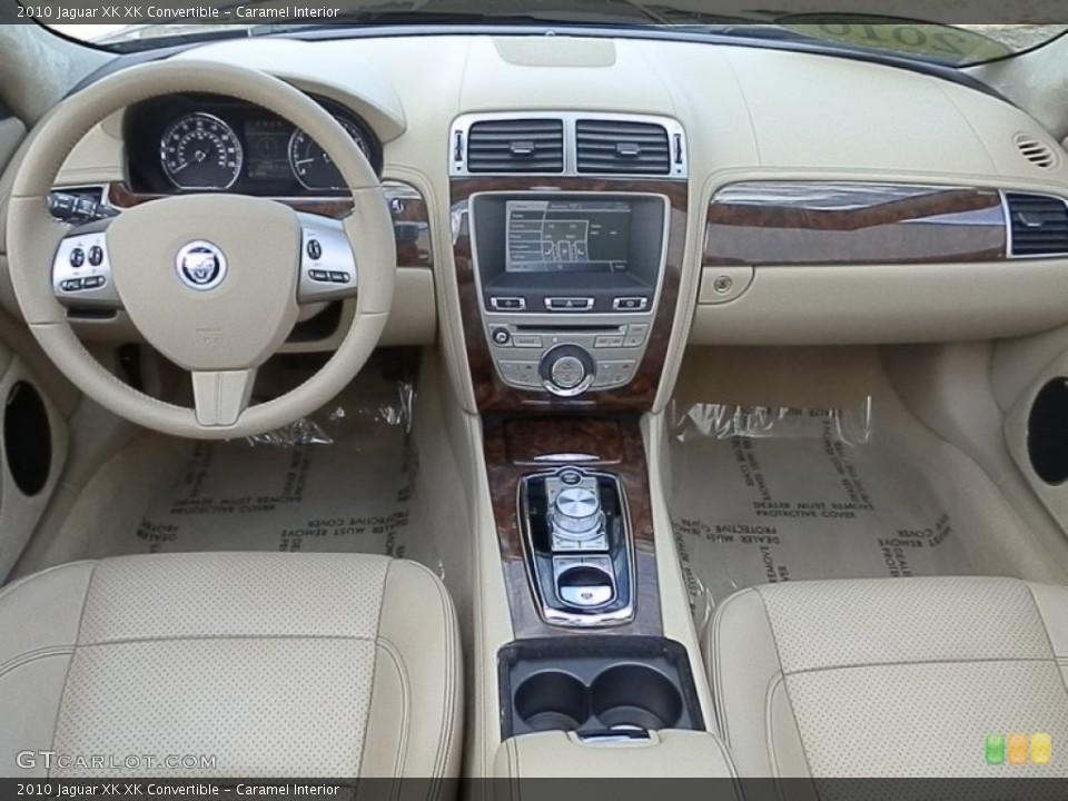 Caramel Interior Dashboard for the 2010 Jaguar XK XK Convertible #78930308