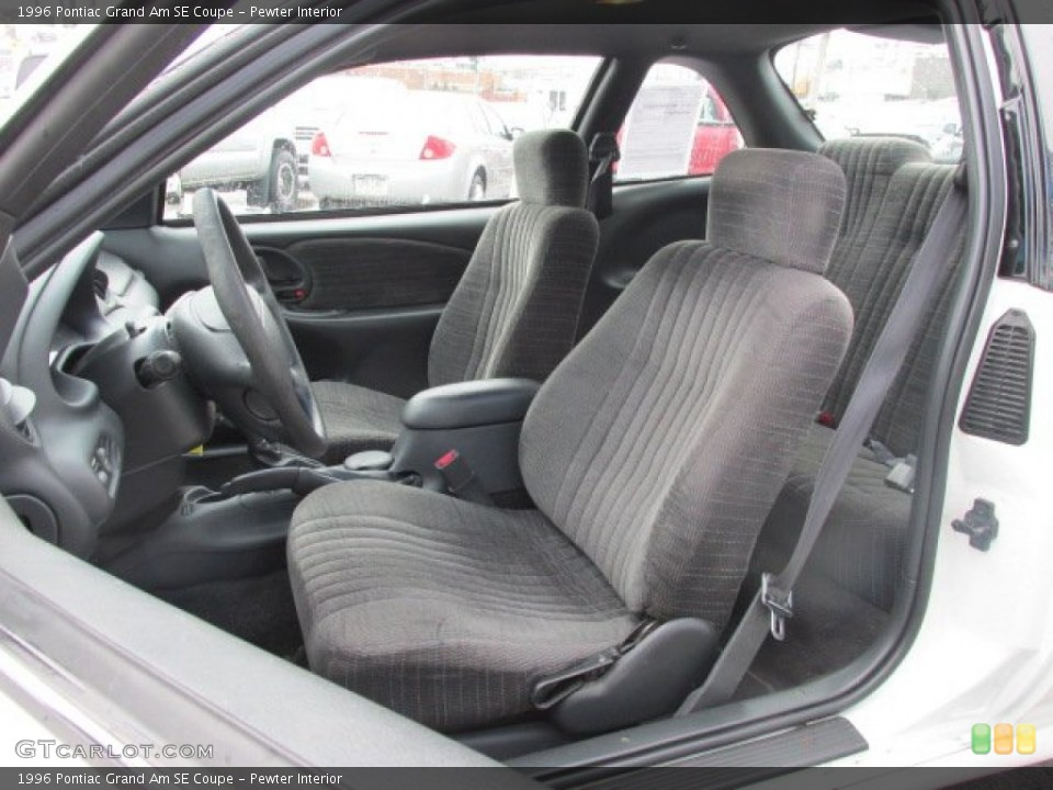 Pewter Interior Photo for the 1996 Pontiac Grand Am SE Coupe #78934440