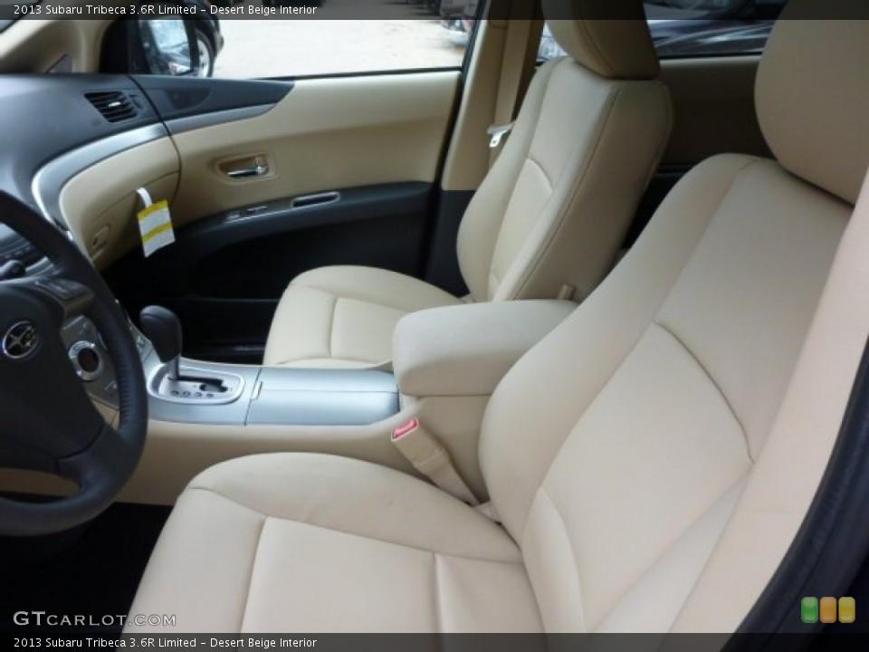 Desert Beige Interior Photo for the 2013 Subaru Tribeca 3.6R Limited #79044100