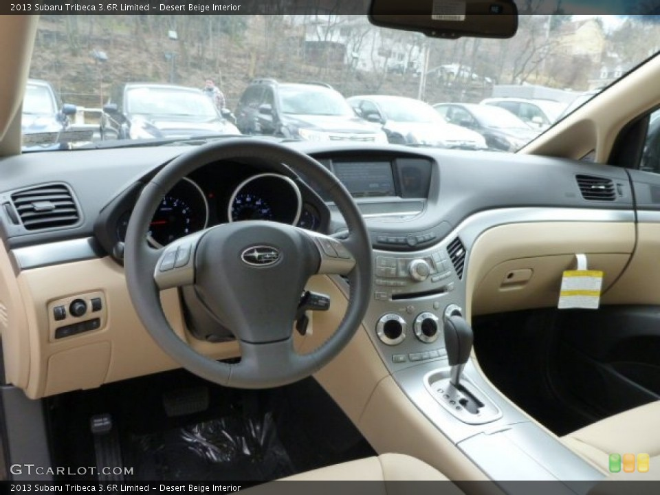 Desert Beige Interior Dashboard for the 2013 Subaru Tribeca 3.6R Limited #79044140