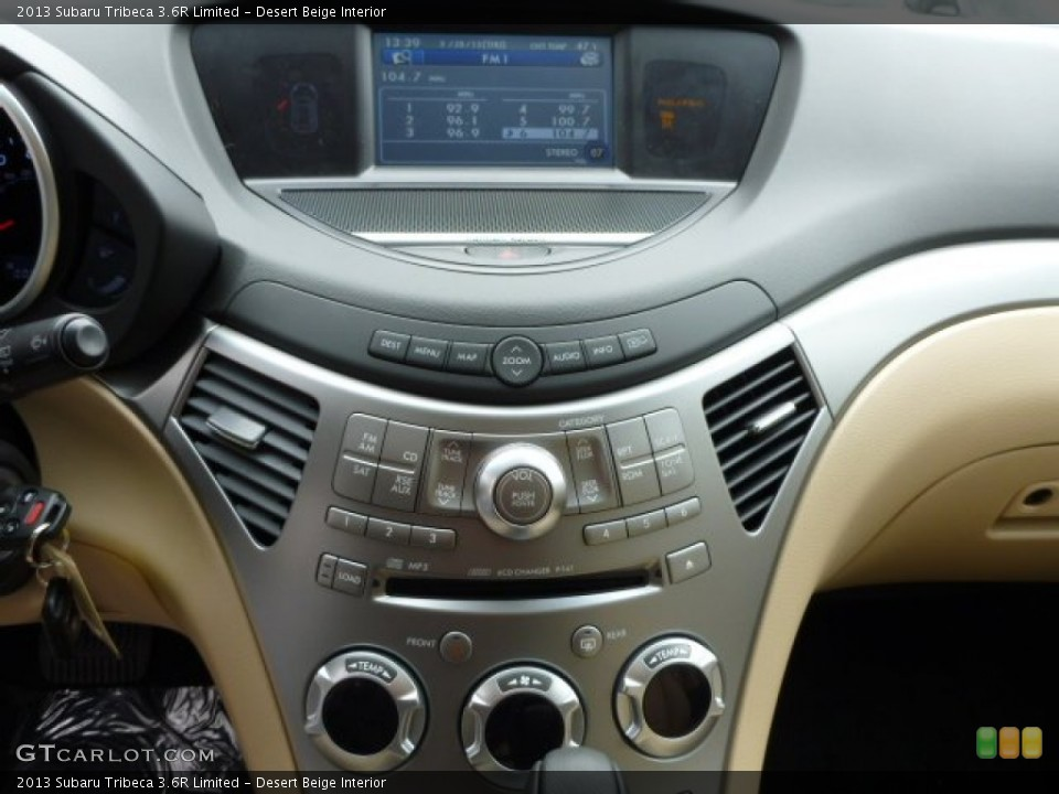 Desert Beige Interior Controls for the 2013 Subaru Tribeca 3.6R Limited #79044267