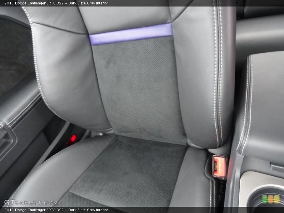 Dark Slate Gray Interior Front Seat for the 2013 Dodge Challenger SRT8 392 #79044838