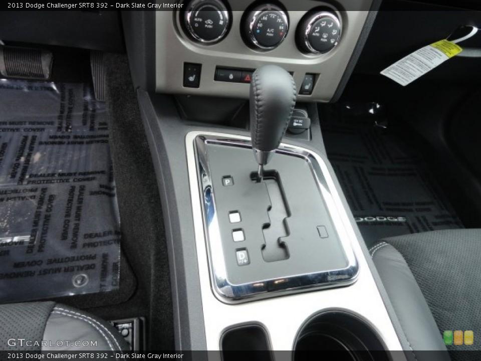 Dark Slate Gray Interior Transmission for the 2013 Dodge Challenger SRT8 392 #79044900
