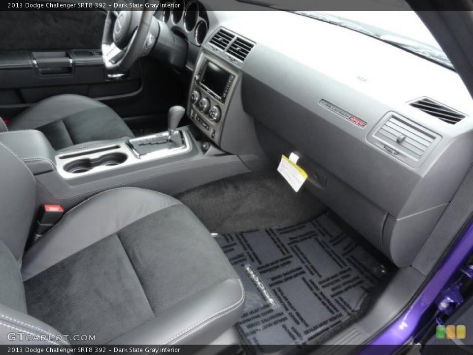 Dark Slate Gray Interior Photo for the 2013 Dodge Challenger SRT8 392 #79045004
