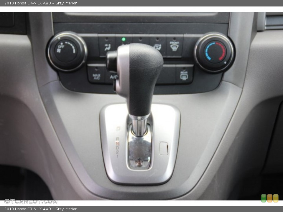 Gray Interior Transmission for the 2010 Honda CR-V LX AWD #79061069