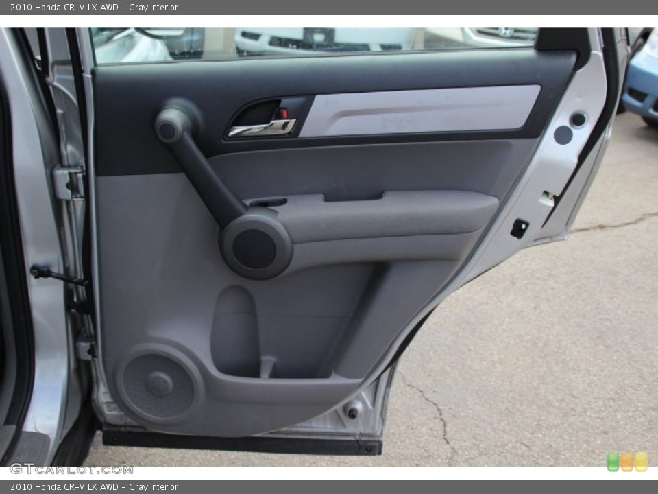 Gray Interior Door Panel for the 2010 Honda CR-V LX AWD #79061156