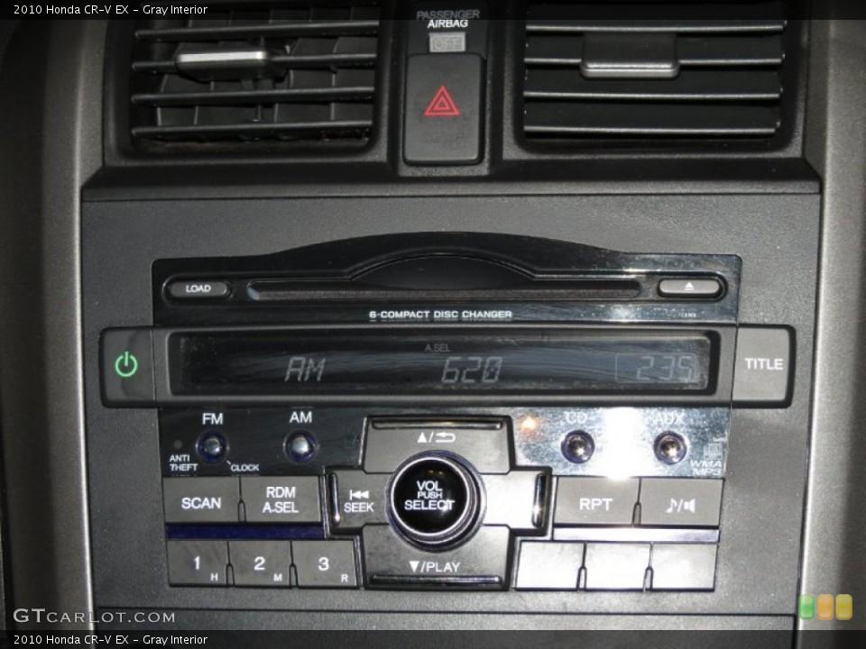 Gray Interior Audio System for the 2010 Honda CR-V EX #79073780