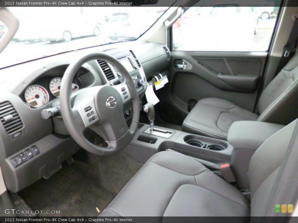 Graphite Pro-4X 2013 Nissan Frontier Interiors