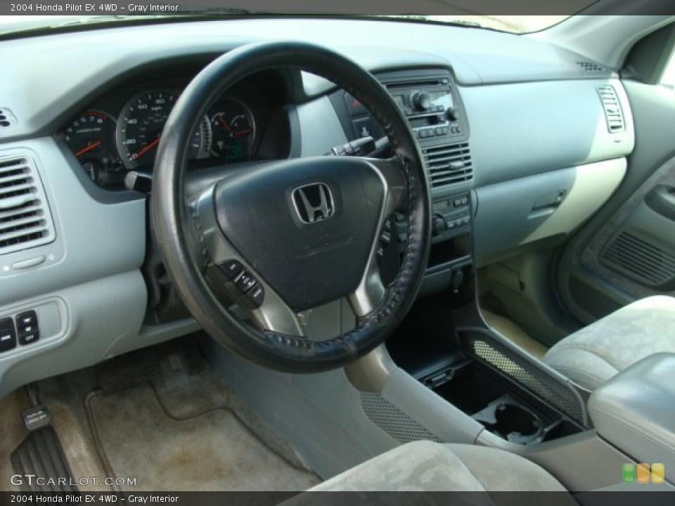 Gray 2004 Honda Pilot Interiors