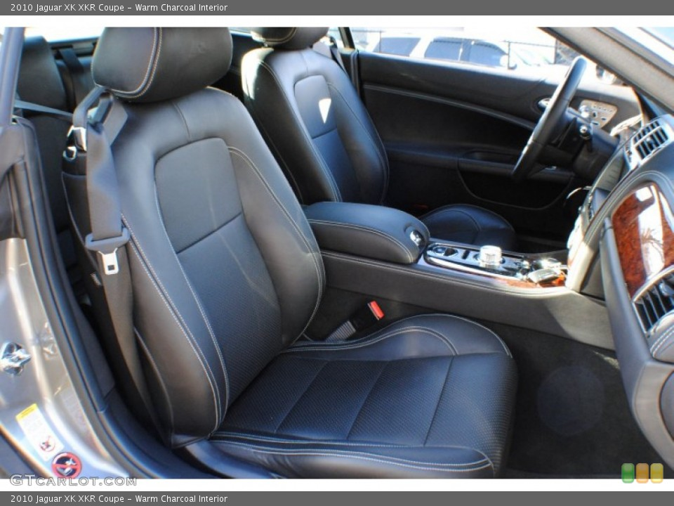 Warm Charcoal Interior Front Seat for the 2010 Jaguar XK XKR Coupe #79240360