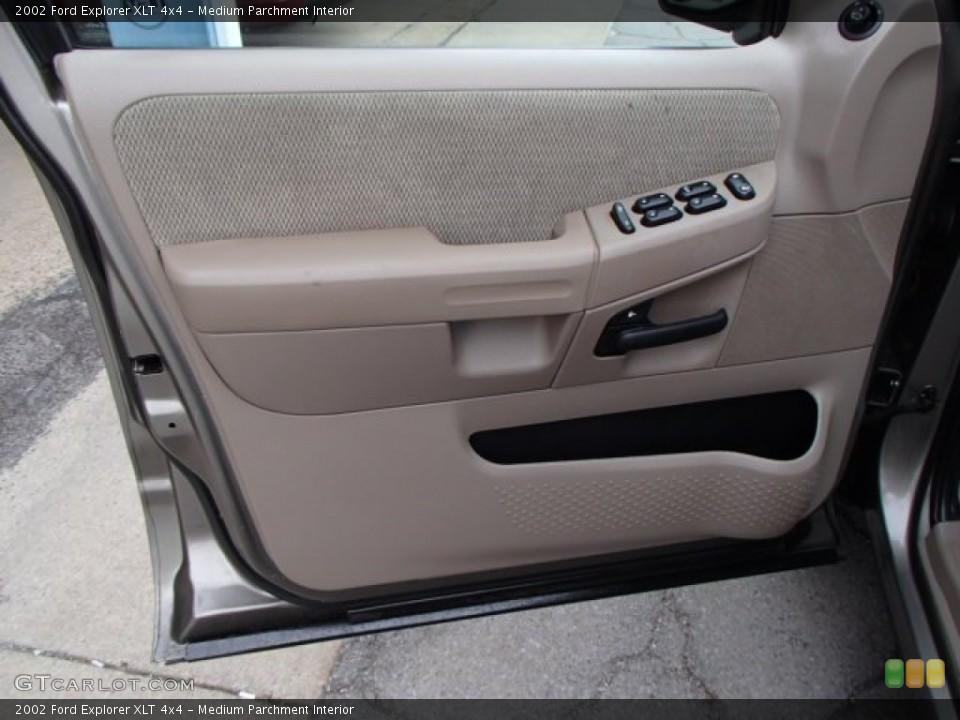 Medium Parchment Interior Door Panel for the 2002 Ford Explorer XLT 4x4 #79470039