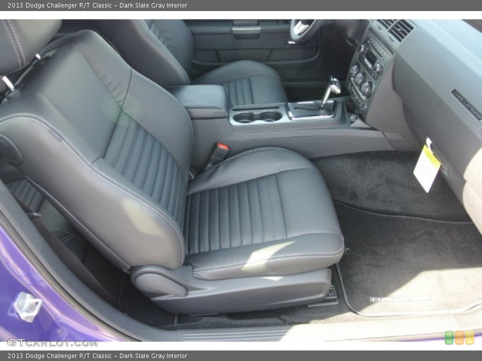 Dark Slate Gray Interior Photo for the 2013 Dodge Challenger R/T Classic #79470281