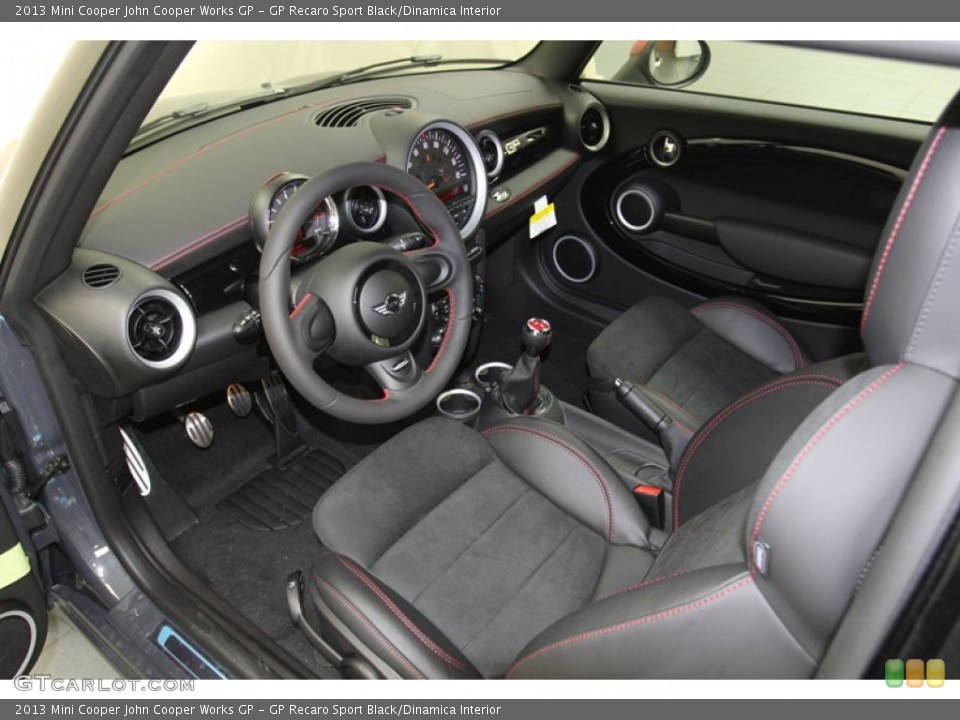 Gp Recaro Sport Black Dinamica Interior Photo For The 2013 Mini Cooper John Cooper Works Gp 79482941 Gtcarlot Com