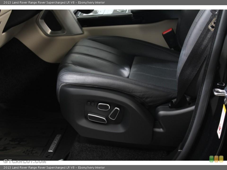 Ebony/Ivory 2013 Land Rover Range Rover Interiors
